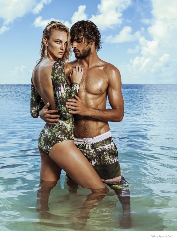 Caroline Trentini Hits the Beach for C&A by Agua de Coco Ads