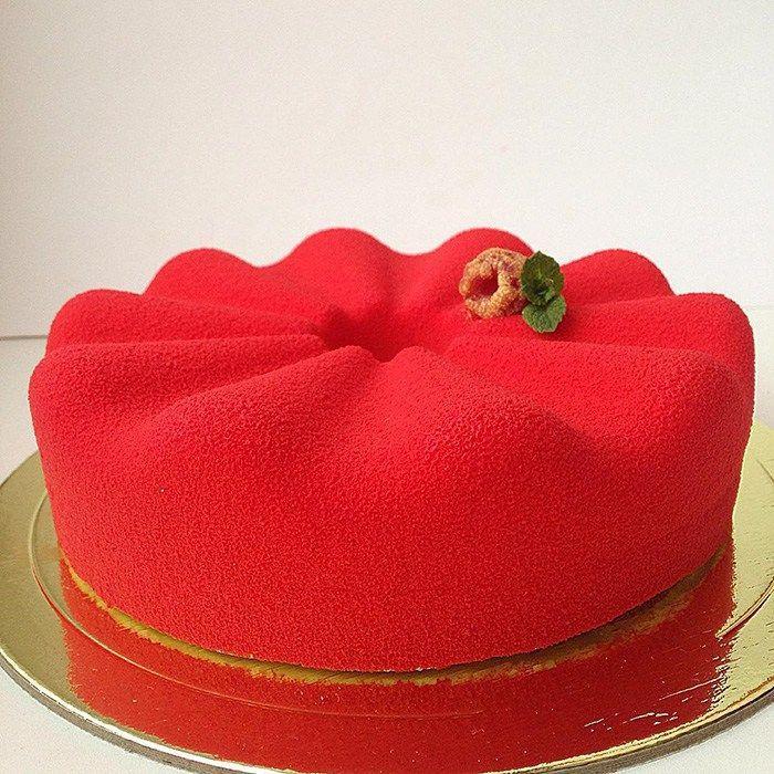 Kırmızı-ahududu-kek