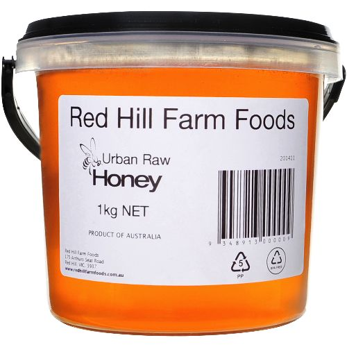 Urban Raw Honey 1kg - Red Hill Farm Foods