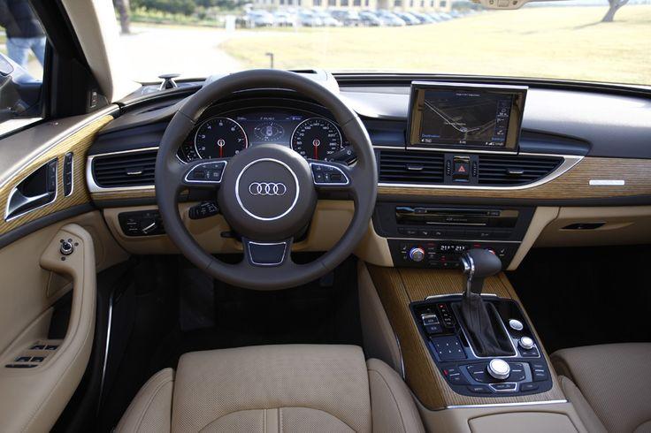 Interior [Audi A6] ... LOVE this car!