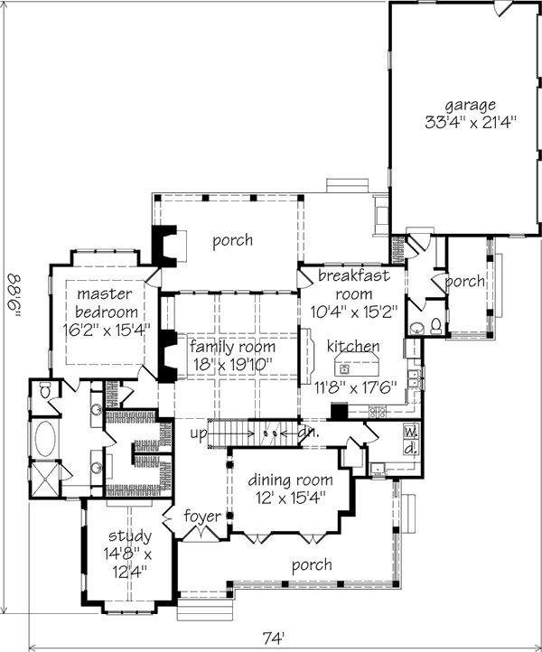 12 Best Shook Hill House Plan Images On Pinterest