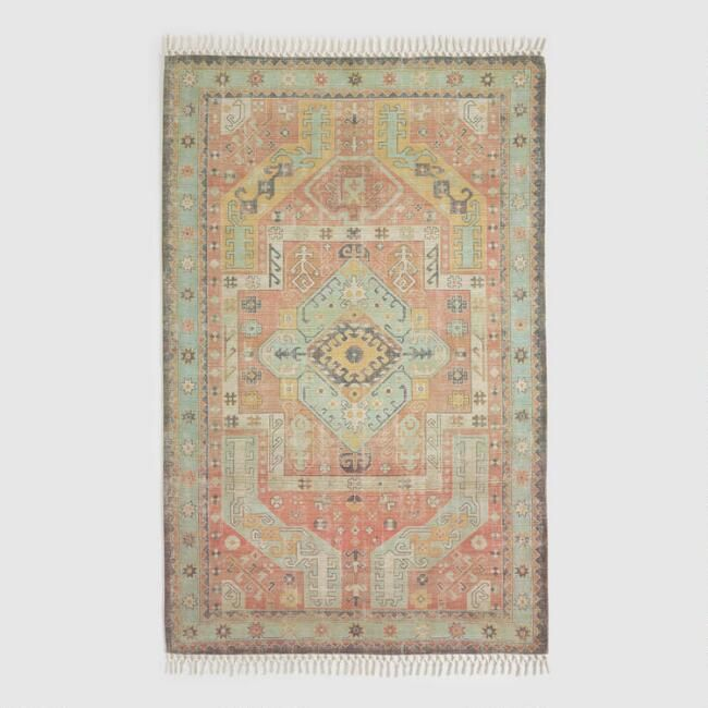 Featuring An Ornate Persian Inspired Design In Gently