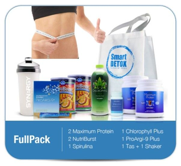 Suplemen Diet Alami - Full Pack Rp 3.800.000