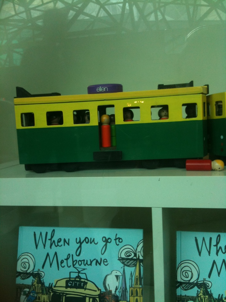 """ellen"" takes a ride on a tram in Melbourne!"