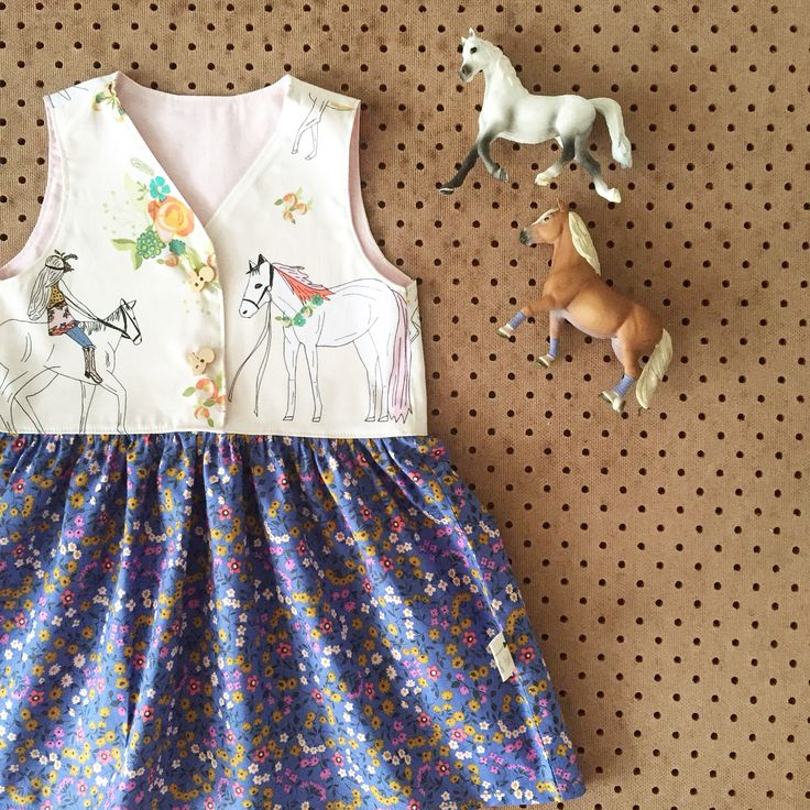 Whimsy Rider Dress @fillies_and_foal