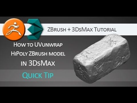 Quick tip #tutorial on how to UV-unwrap hi-poly #ZBrush model in #3DsMax WITHOUT loosing detail in hi-subdivision levels. http://aleksmarkelj.webs.com