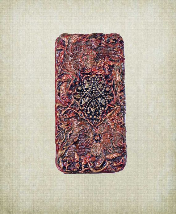 3d iPhone 5 Case  Red Custom iPhone 5 case  by ShabbyChicToVintage, $55.00