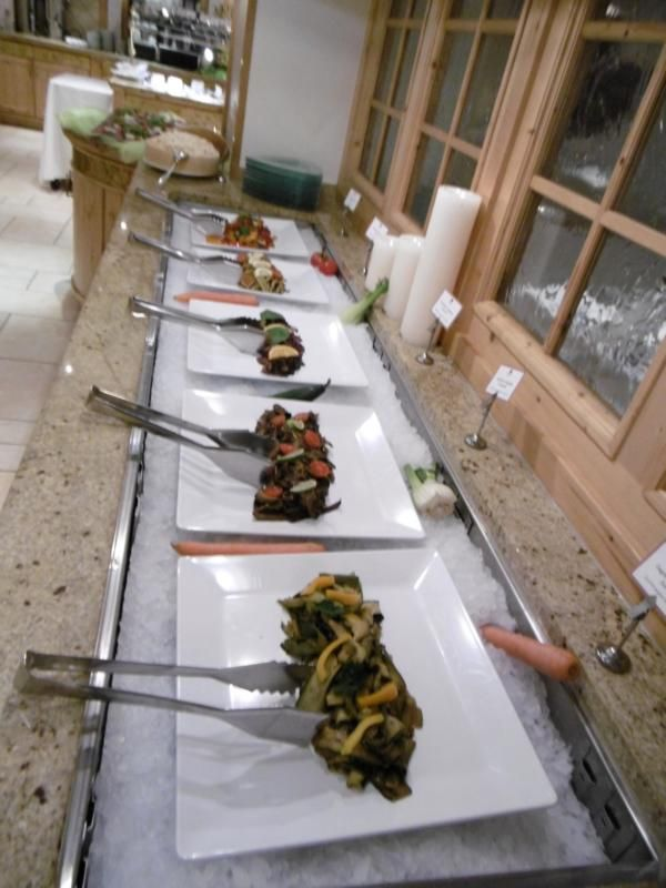 Antipasti Buffet im DolceVita Hotel Preidlhof Naturns (IT) http://preidlhof.it