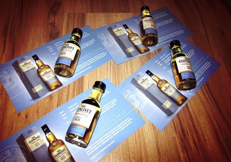 Próbki przygotowane dla kolegów, za moment wyruszą ze mną do pracy. Ciekawy jestem reakcji chłopaków... #TheGlenlivet #FoundersReserve #whisky https://www.facebook.com/photo.php?fbid=447820372084990&set=o.145945315936&type=3&theater