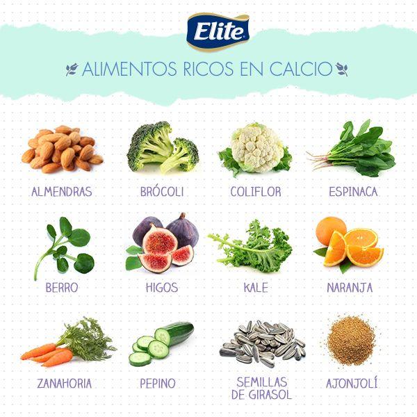 Estos son los alimentos que poseen las mejores fuentes de calcio, intenta agregarlos a tu dieta.