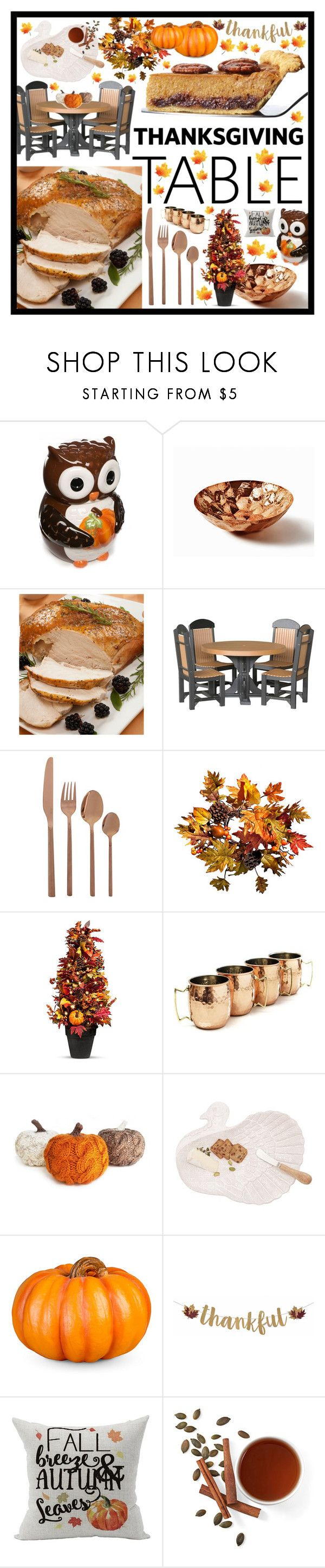 """""""Thanksgiving"""" by beanpod ❤ liked on Polyvore featuring Tom Dixon, DutchCrafters, Improvements and Old Dutch"""