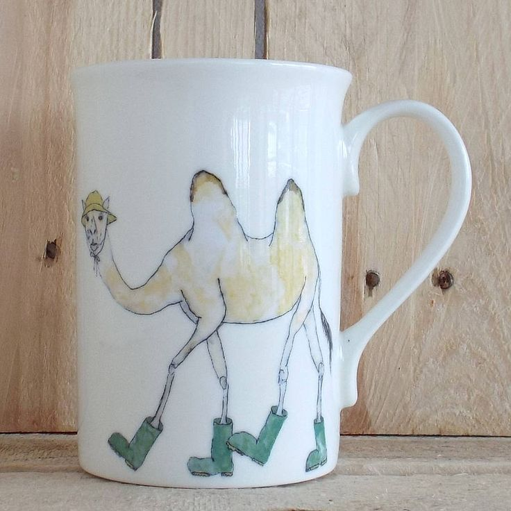 Camel Wellies Design Mug