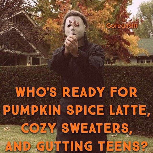 Michael Myers knows what season it is.