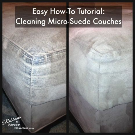 Micro Suede Couch Cleaner
