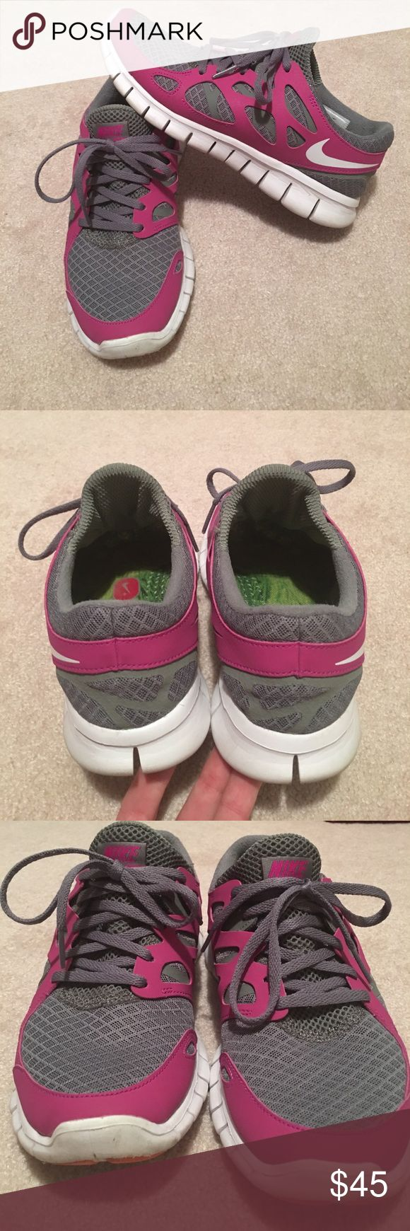 Nike Free Run 2 Euc. Only worn a few times. Have too many shoes and trying to only keep what I really wear. Smoke and pet free home Nike Shoes Athletic Shoes