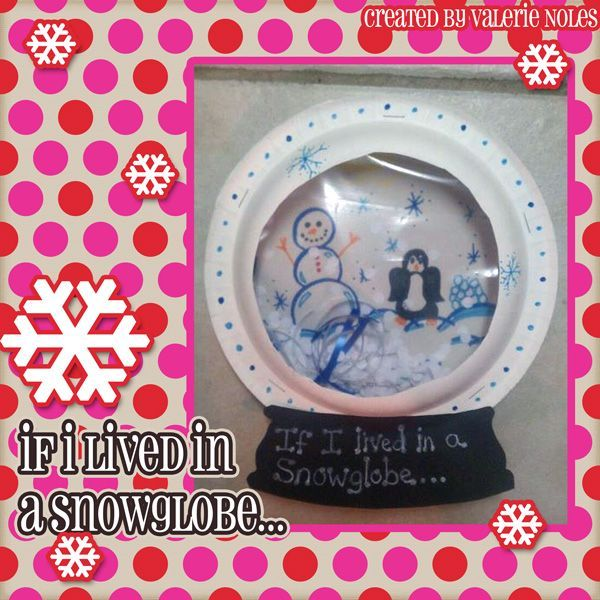 Valerie King Inspired: Snowglobe Writing Prompt