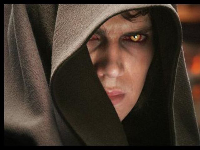 I was doing a Star Wars character quiz and I got Anikan Skywalker .i guess there must me a darkness within me ..,