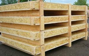 exportní bedny - z OSB, překližky nebo dřeva, ošetřené dle IPPC/ISPM15
