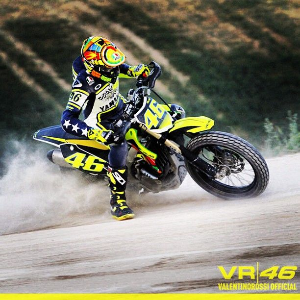 Valentino Rossi vr46 Yamaha - re-pinned- 12/27/2014 from The Doctor's Office