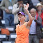 Simona Halep advances to Quarter Finals. Played against Sloane Stevens