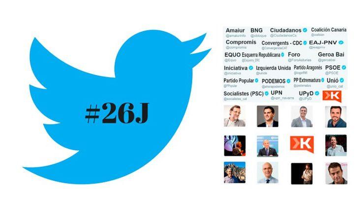 Influencia de Twitter y las redes sociales en las elecciones del 26J