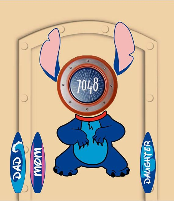 How To Make Disney Cruise Door Magnets