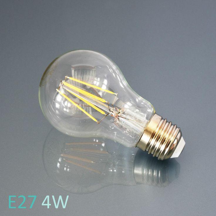 Details Zu LED Leuchtmittel E27 E14 Lampe Glhbirne Windstoss Kerze Birne Filament Leuchte