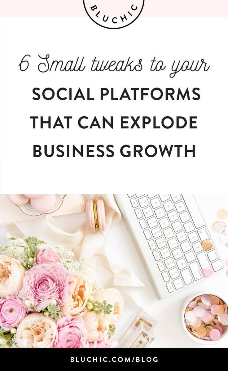 6 Small Tweaks To Your Social Platforms That Can Explode Business Growth