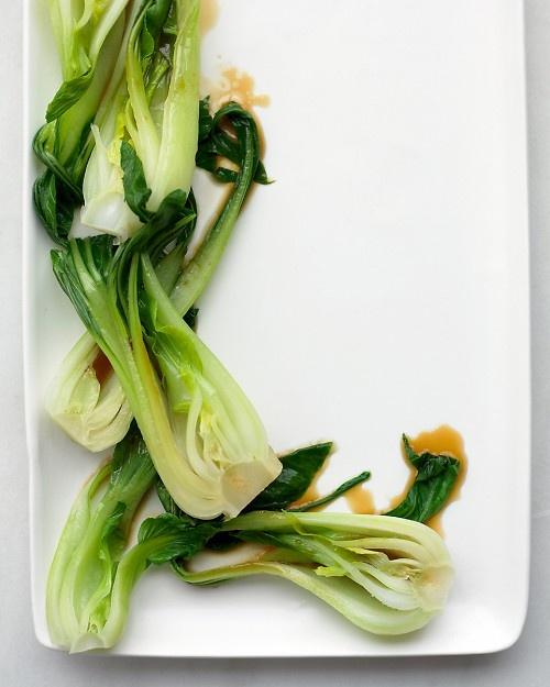 Ginger-Sesame Bok Choy Recipe-- very good!