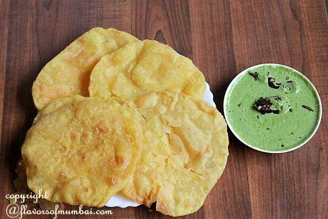 Goan Rice Flour Poori - Rice Flour Poori recipe
