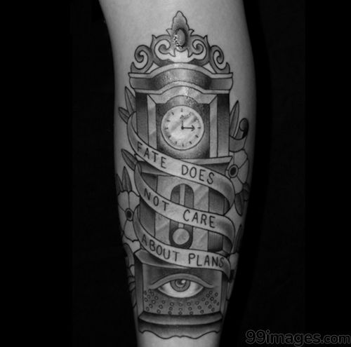 Hd Wallpapers 3d Art Tattoo Design: Top Clock Tattoos (HD Photos)