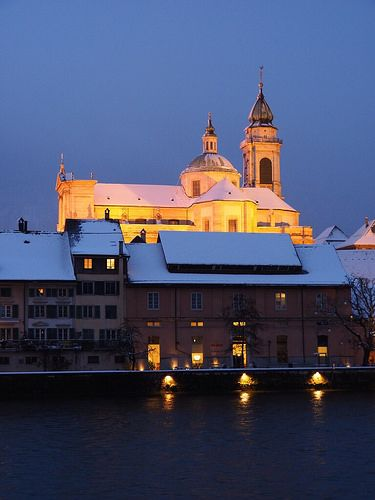 Solothurn, Blue hour | Flickr - Photo Sharing!