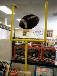 PVC goal post for $8.15 (plus spray paint)