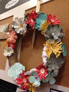 Project Ideas for We R Memory Keepers - Flower Punch Board