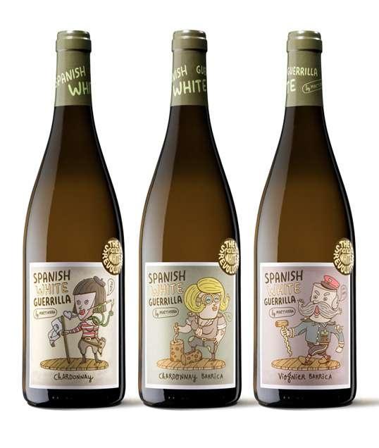 Wine label Spanish