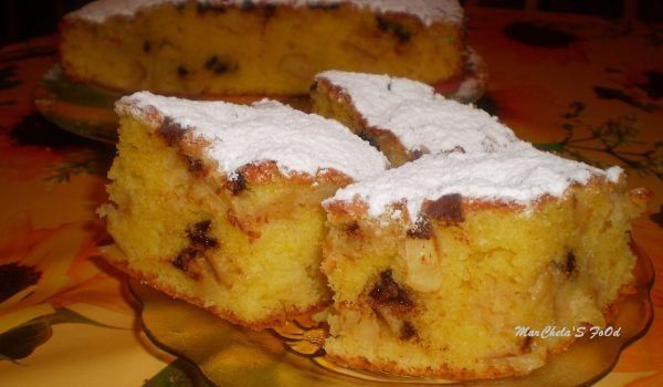 Време е за сладкиш! - Сладкиш с ябълки, канела и шоколад - изпитана рецепта. Как да приготвим Сладкиш с ябълки, канела и шоколад...
