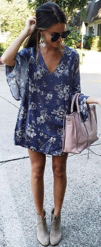 #summer #lovely #fashion | Little Floral Dress