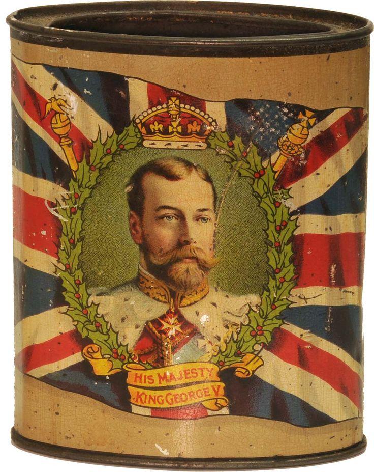 His Majesty King George V Tea Tin.