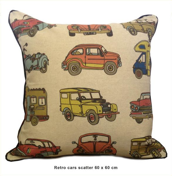Sillybilly scatter Retro cars