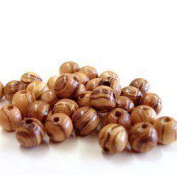 Rosary-Beads-60-Round-Beads-6mm-Betlehem-Olive-wood-0