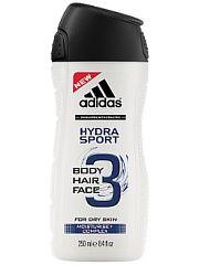 Гель для душа adidas Hydra Sport для мужчин 250 мл Adidas