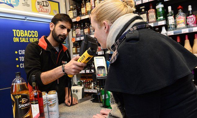 How the Hell is this the police cracking down on anything ? it's just another way for them to NOT do their job Shopkeepers will BREATHALYSE customers trying to buy alcohol