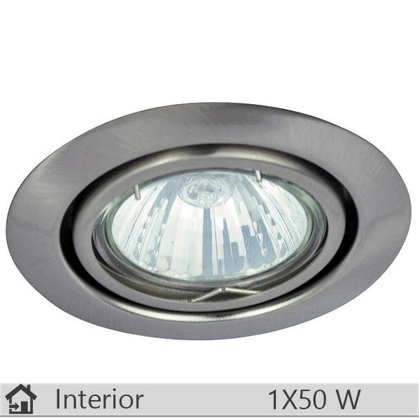 Spot incastrat iluminat decorativ interior Rabalux, gama Spot relight, model 1093 http://www.etbm.ro/corpuri-de-iluminat