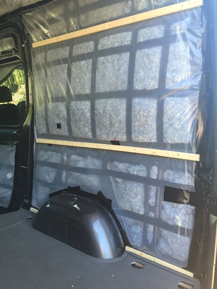 Van Conversion Part 1 Framing Insulation