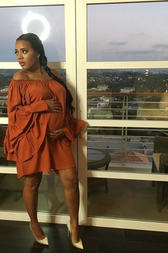 Angela Simmons' Pregnancy Style  - Angela Simmons' Pregnancy Style is Totally on Point