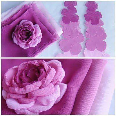 Для этого надо приготовить два вида розовых цветов. Как делать:…