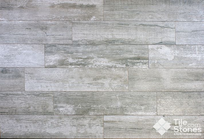 Grey Woodlike Tile Crate Series Weather Board Tile Look