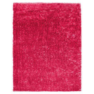 Rug Studio Metro Silk Hot Pink Area Rug Rug Size: 8' x 10'