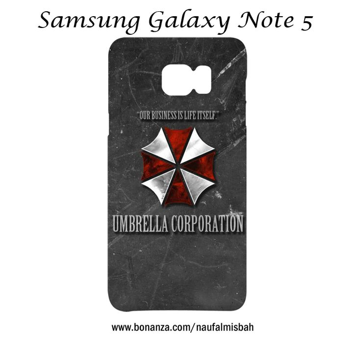 Umbrella Corporation Samsung Galaxy Note 5 Case Cover Wrap Around