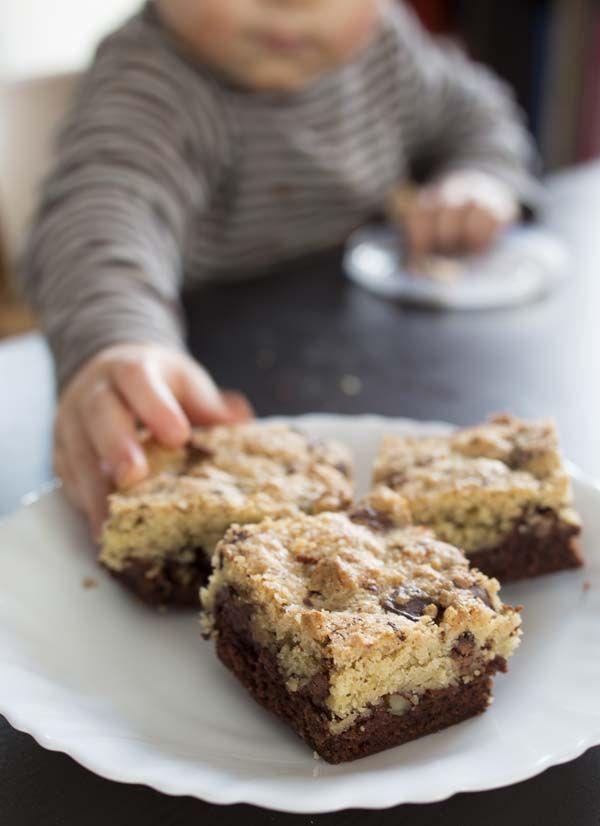 Brookies: l'incroyable gâteau brownies – cookies  ♥ #epinglercpartager